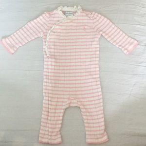 Ralph Lauren baby girl one piece striped romper